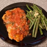 italian fish with green beans