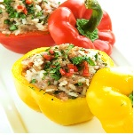 Spicy Stuffed Peppers